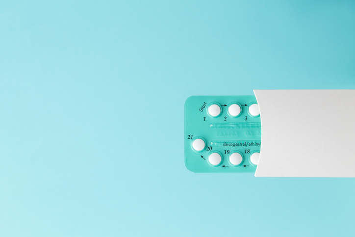 Pack of oral contraceptive pills, one of the different kinds of birth control to figure out.
