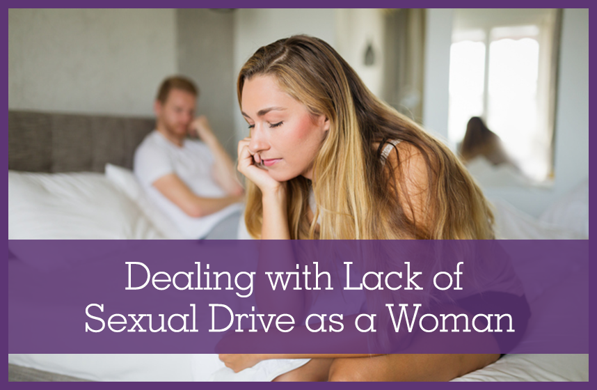 Woman Dealing with Lack of Sexual Drive as a Woman